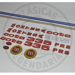 Anagramas Cota 335 Excursion Kit Ref 112501