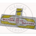 Anagramas adhesivos Deposito Bultaco Frontera MK11 ref.BU020001