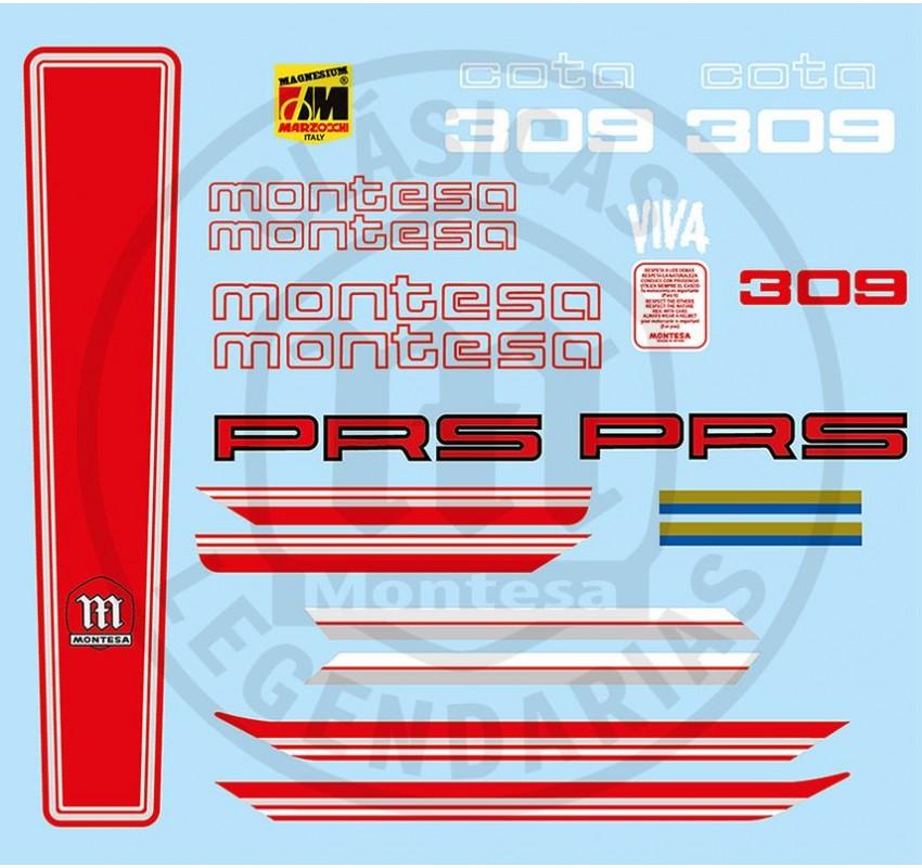 Kit Completo adhesivos Montesa Cota 309 ref_3920061121
