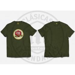 Camiseta logo Montesa Clasico Negra R01152