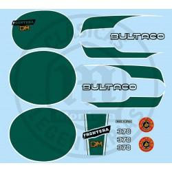 Juego adhesivos Bultaco Frontera Gold Medal 370 Ref.49320001