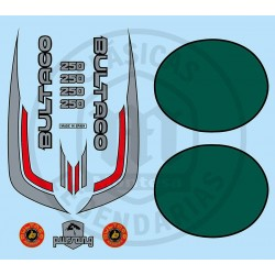 Juego Completo adhesivos Pursang MK10 250 Ref.19220001