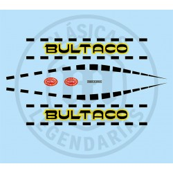 Juego Adhesivos Bultaco Astro ref.14520001