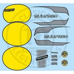 Juego Completo adhesivos Frontera MK10 370 original Ref.18120002