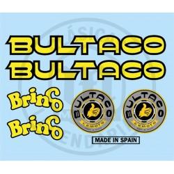 Juego Completo adhesivos Bultaco Brinco Ref.10820001