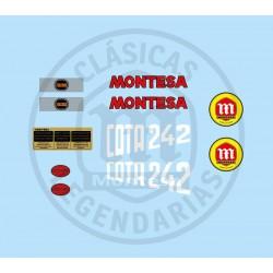 Anagrama Cota 242 1985 Kit Ref 1067