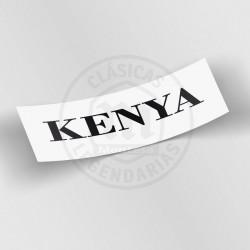 Anagrama Kenya Deposito Ref 1230