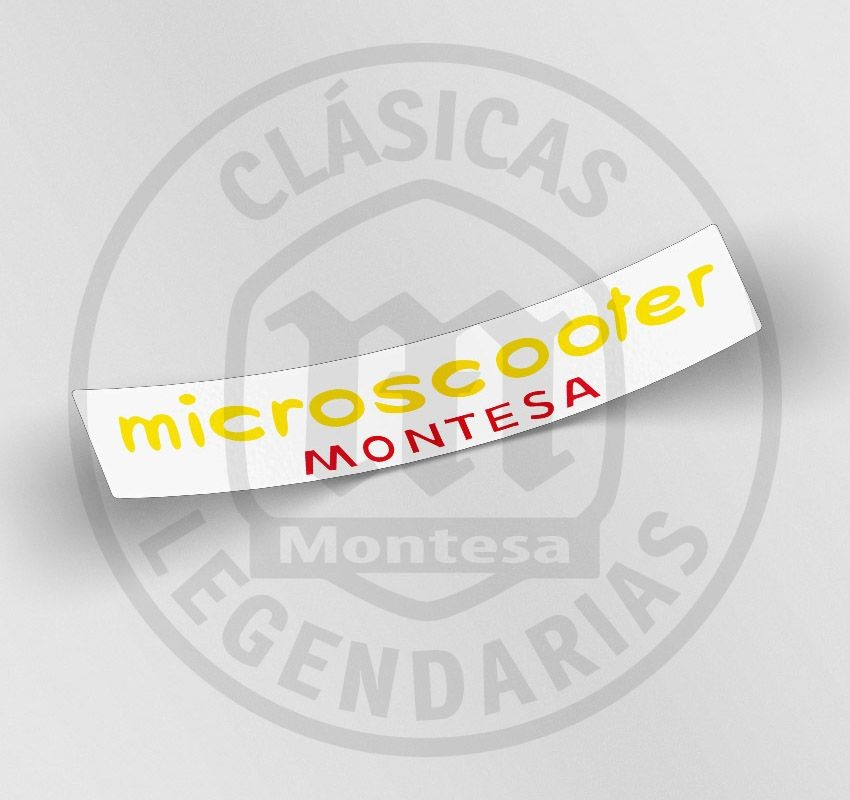 anagrama Montesa Microscooter ref.AML-2004