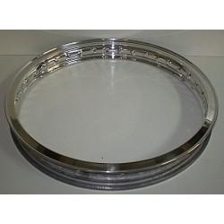 Llanta aluminio con nervio 1.60x18 Ref 50004