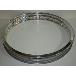 Llanta aluminio con nervio 1.60x19 Ref 350003