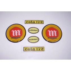 Anagrama cota 172 primera serie kit Ref 1093