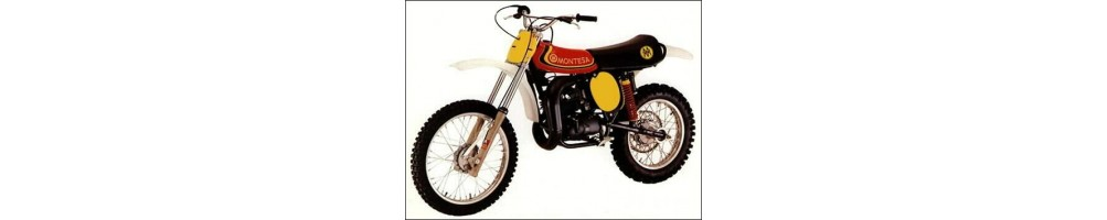 recambios Montesa Cappra 250 VB año 1976 y 1978