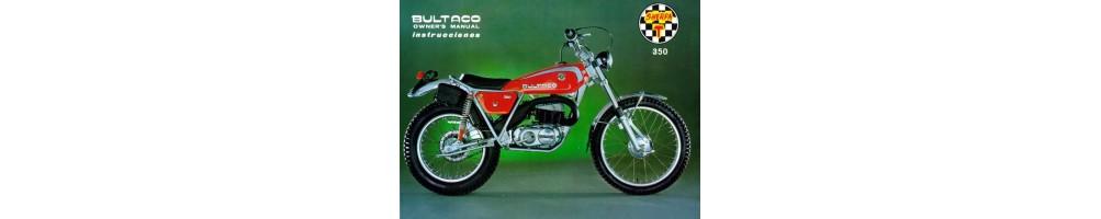 Recambios y repuestos para Motos Clásicas Bultaco Sherpa