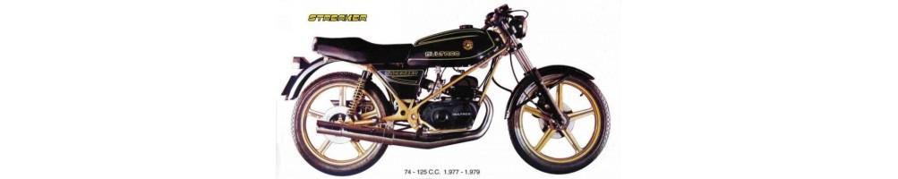 Recambios y repuestos para Motos Clásicas Bultaco Streaker de 74 y 125 cc