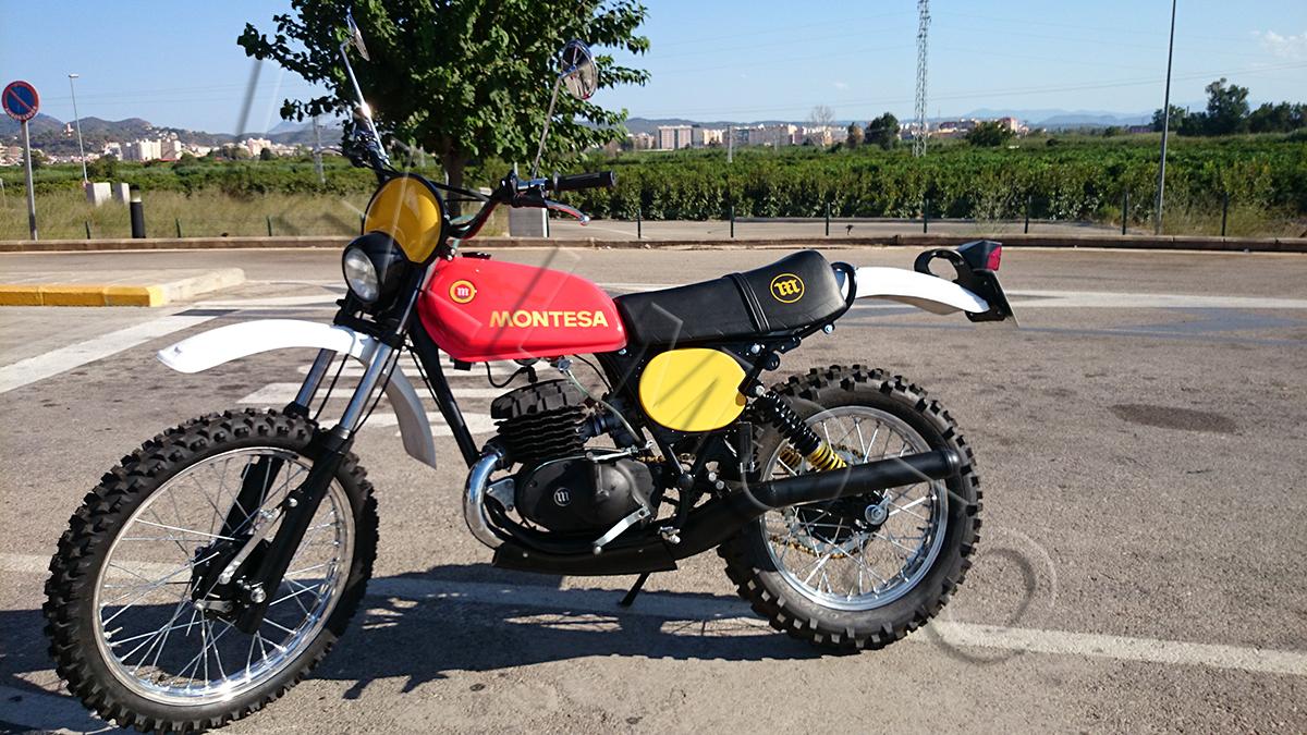 Restauración Montesa Enduro 250 H6