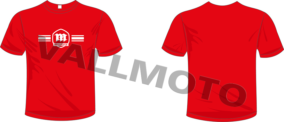 Camiseta Montesa triple Horizontal