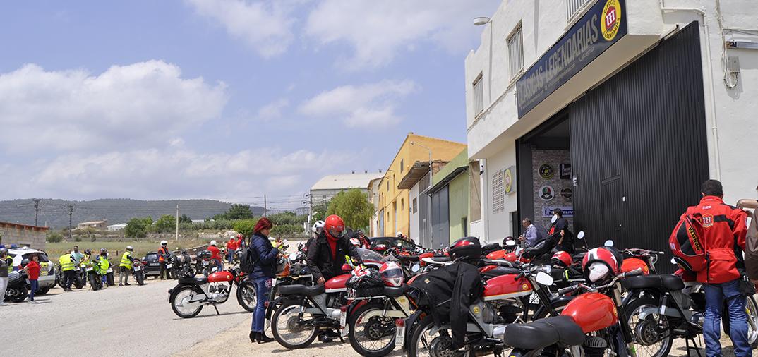 concentracion motos montesa en montesa 2018