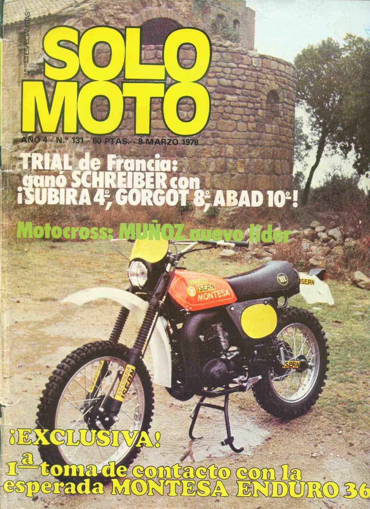 Solo Moto Montesa Enduro 360