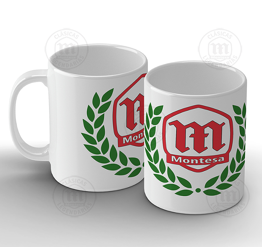 Taza montesa Laurel
