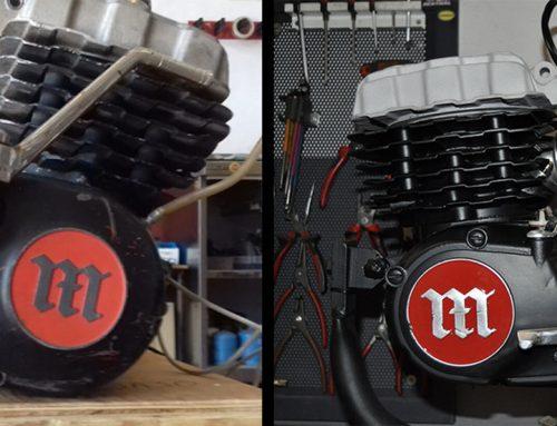 Restauración Motor Montesa Cota 349/4