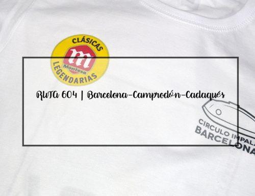 Colaboración en la RUTA 604 | Barcelona-Camprodón-Cadaqués