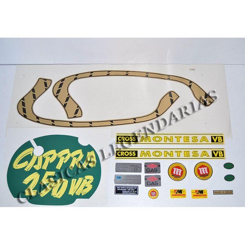 kit anagramas adhesivos Cappra 250 VB