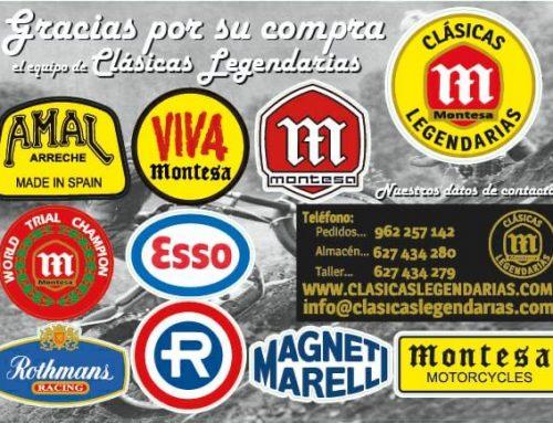 Set adhesivos Montesa – Clásicas Legendarias