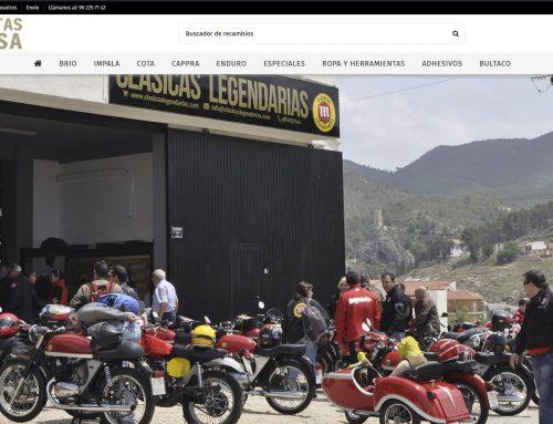 Nueva Tienda Online Clásicas Legendarias 2021